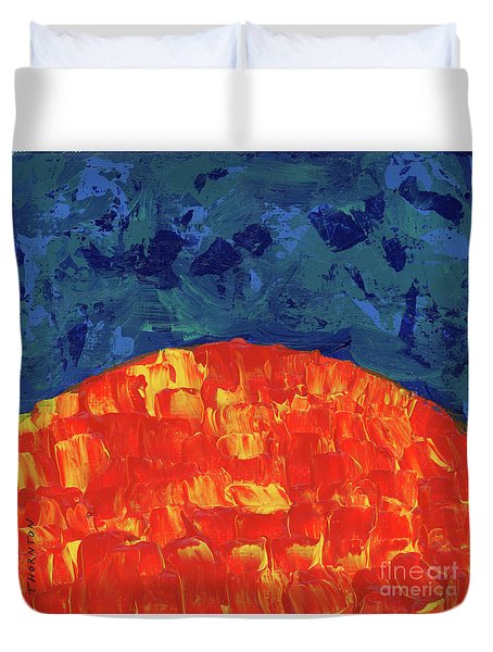 Sunrise Sunset 1 Duvet Cover
