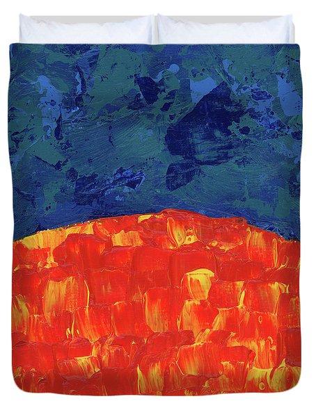 Sunrise Sunset 2 Duvet Cover