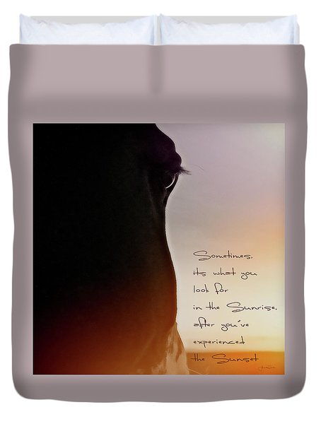 Sunrise Sunset Duvet Cover