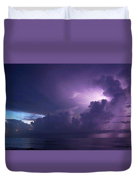 Sunrise Thunderstorm Duvet Cover