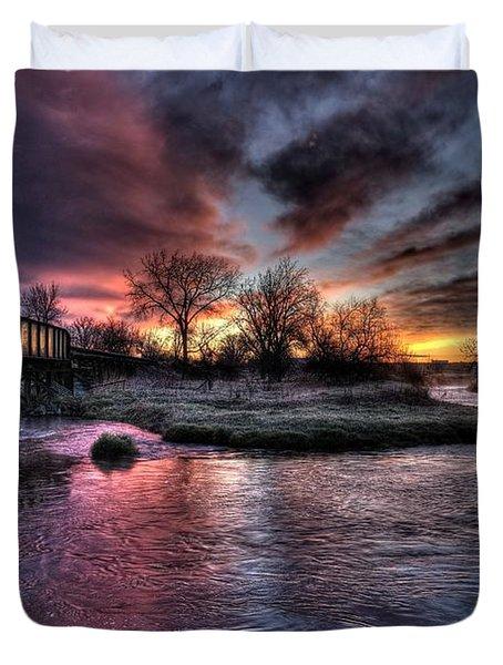 Sunrise Trestle #1 Duvet Cover
