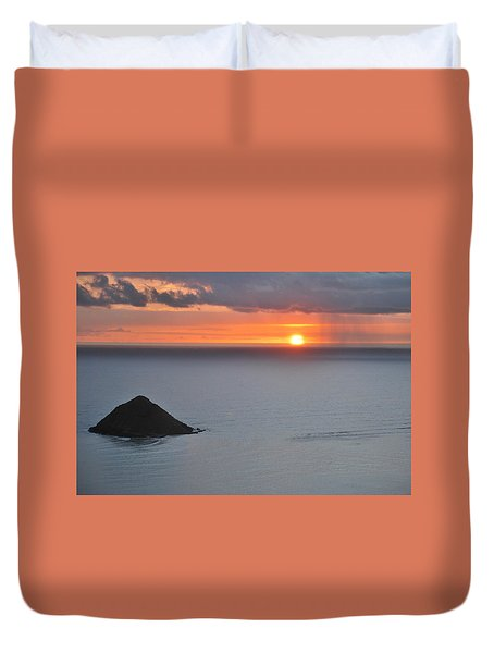 Sunrise View Duvet Cover