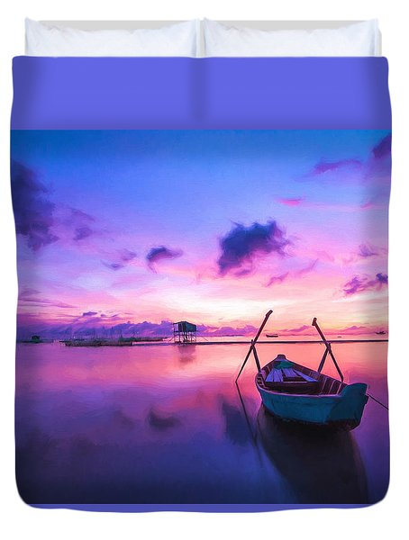 Sunrise Duvet Cover