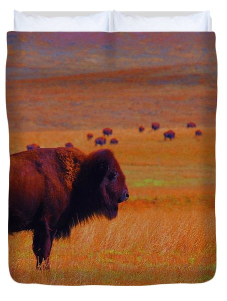 Sunrise Watch  Duvet Cover
