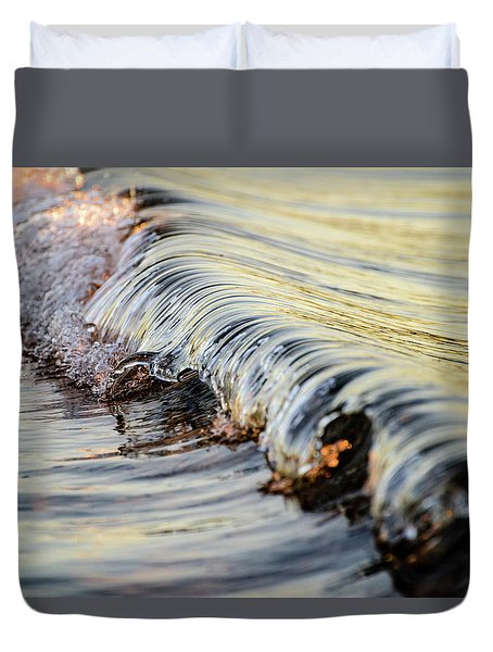 Sunrise Wave Duvet Cover