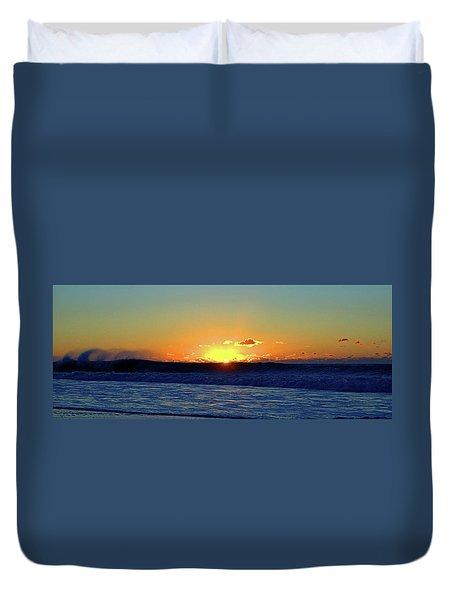 Sunrise Wave I I I Duvet Cover by Newwwman