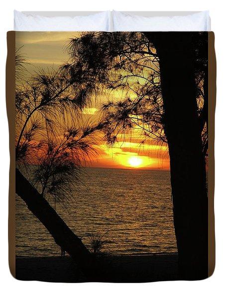 Sunset 1 Duvet Cover by Megan Cohen
