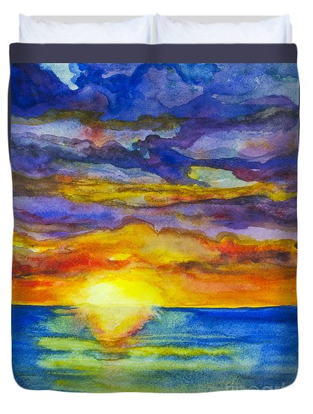 Sunset 1 Duvet Cover