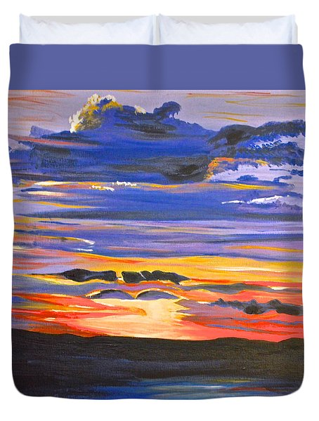 Sunset #5 Duvet Cover
