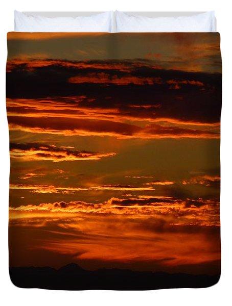 Sunset 5 Duvet Cover