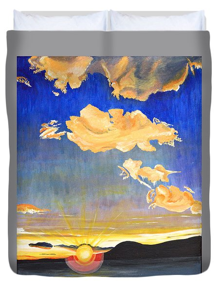 Sunset #6 Duvet Cover