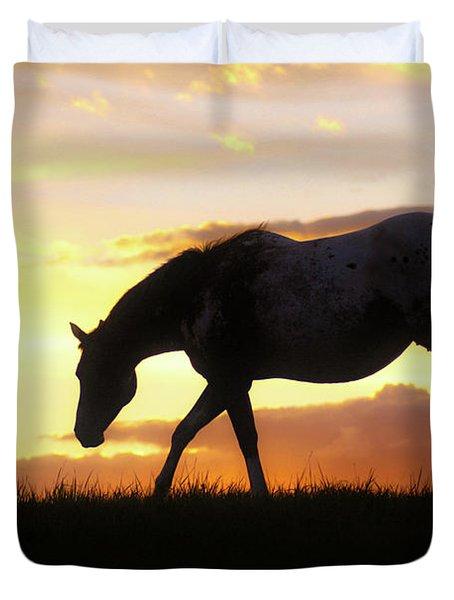 Sunset Appy Duvet Cover