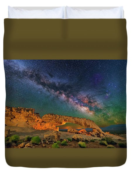 Sunset Arch Duvet Cover