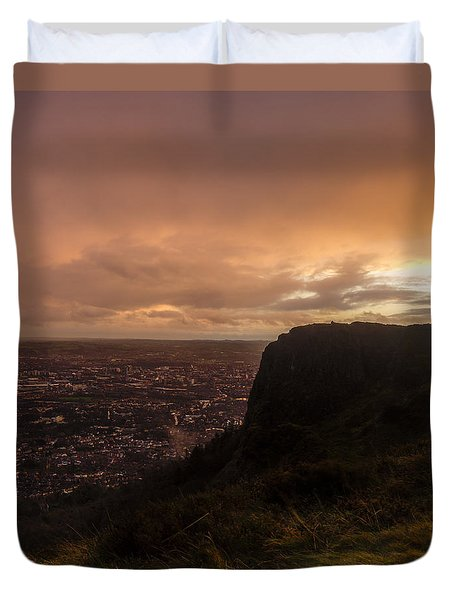 Sunset At Cavehill Duvet Cover