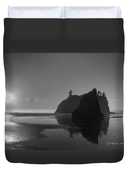 Sunset At Ruby Beach #2 Duvet Cover