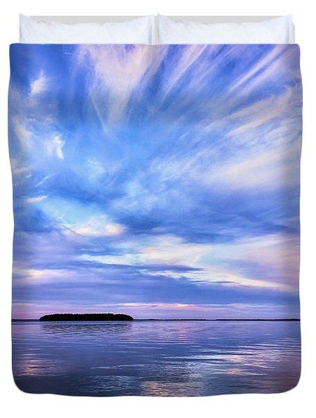 Sunset Awe Duvet Cover