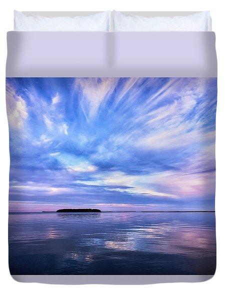 Sunset Awe Duvet Cover