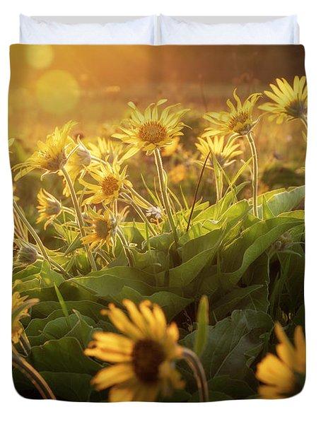 Sunset Balsam Duvet Cover