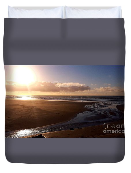Sunset - Bastendorff Beach Duvet Cover