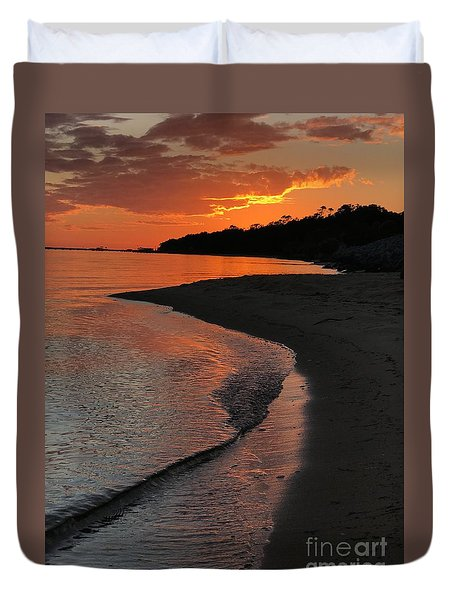 Sunset Bay Duvet Cover