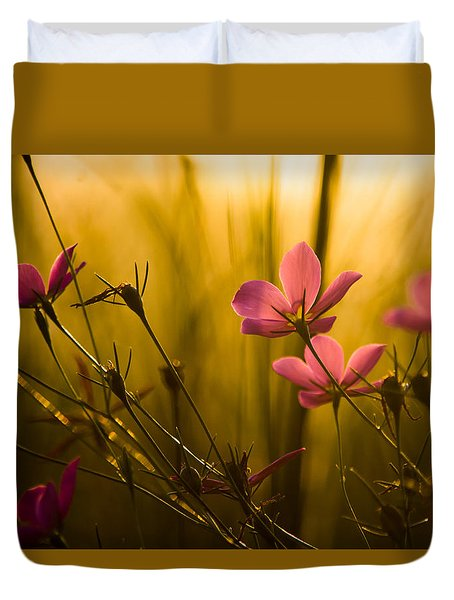 Sunset Beauties Duvet Cover