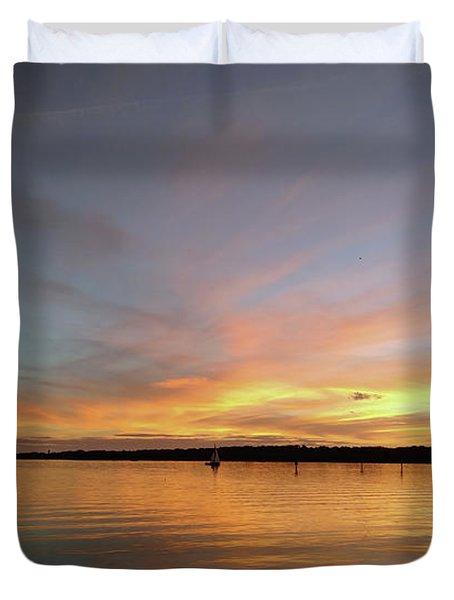 Sunset Blaze Duvet Cover