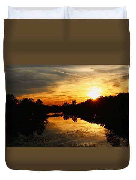 Sunset Bliss Duvet Cover