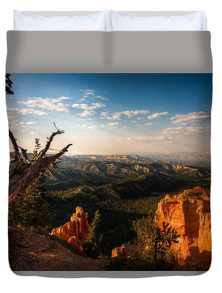 Sunset Bryce Duvet Cover