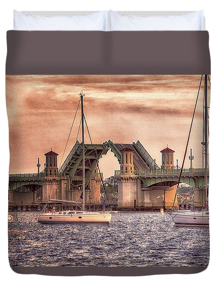 Sunset Closing Duvet Cover