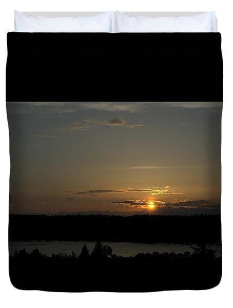 Sunset Cloud Duvet Cover