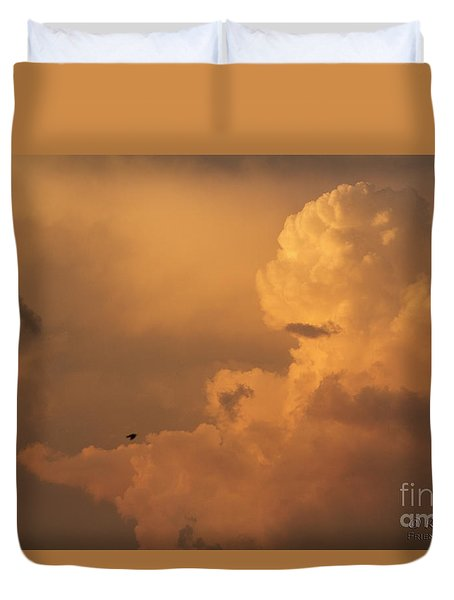 Sunset Clouds 01 Duvet Cover