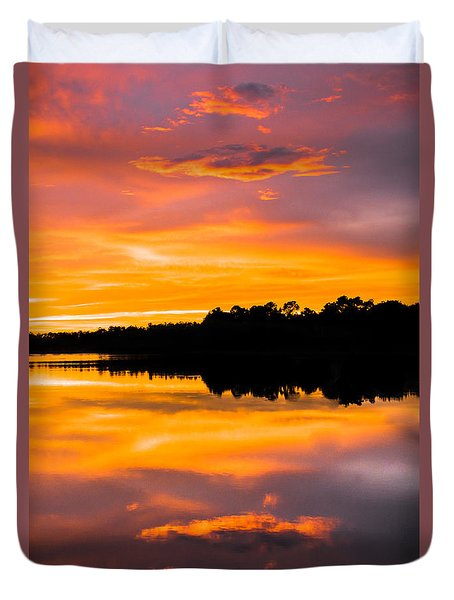 Sunset Colors Duvet Cover