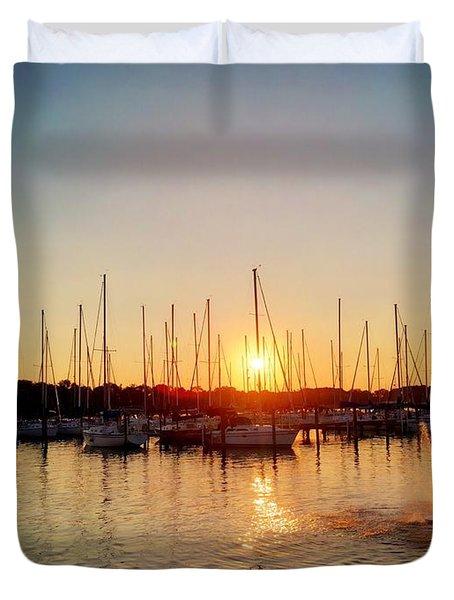 Sunset Cove 2015 Duvet Cover