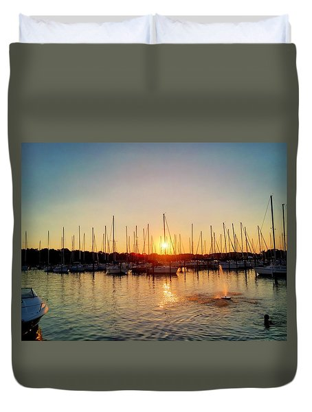Sunset Cove 2015 Duvet Cover