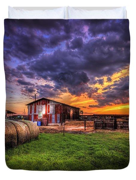 Sunset Dairy Duvet Cover