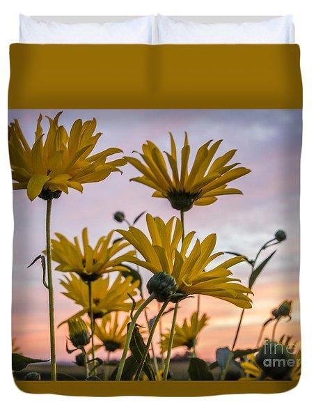 Sunset Delight Duvet Cover