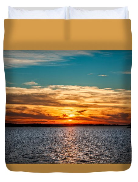 Sunset Duvet Cover by Doug Long