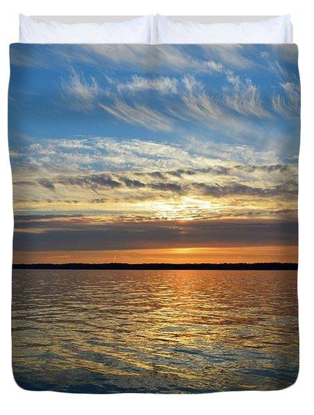 Sunset Dream  Duvet Cover by Lyle Crump