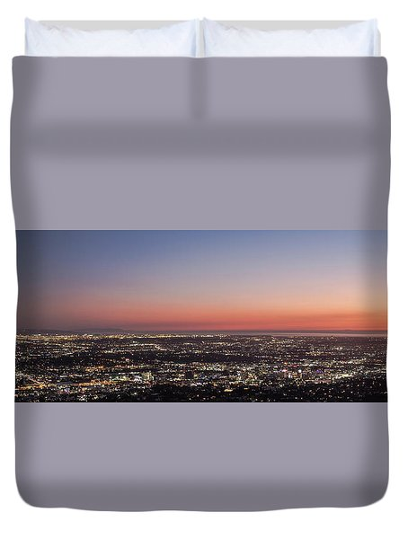 Sunset Dreaming Duvet Cover