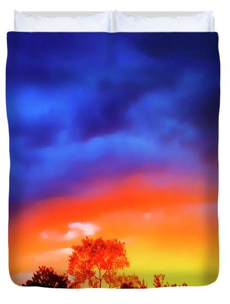 Sunset Extraordinaire Duvet Cover