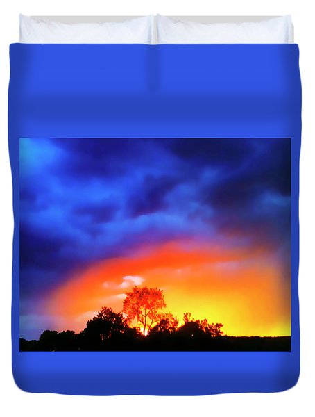 Sunset Extraordinaire Duvet Cover