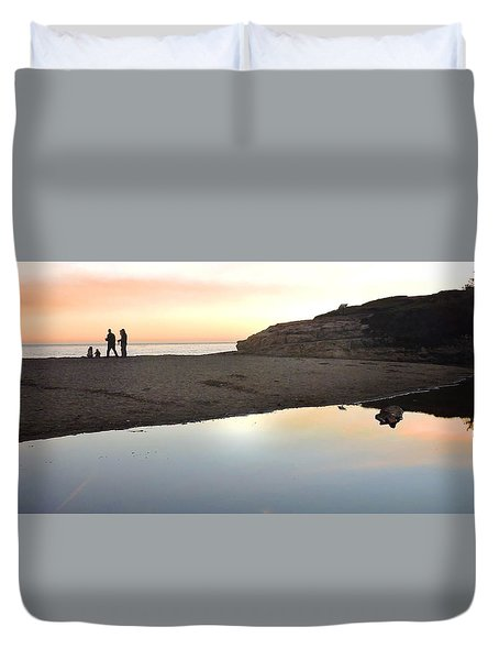Sunset Family Duvet Cover