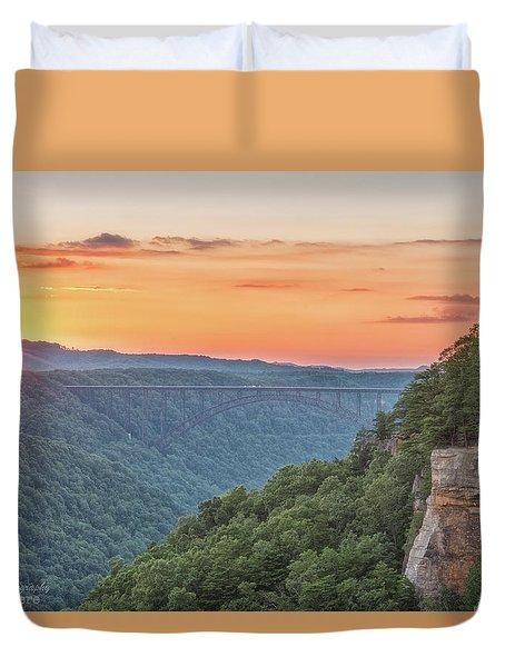 Sunset Flare Duvet Cover