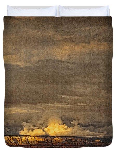 Sunset From Above B Duvet Cover
