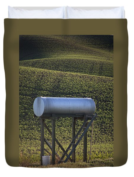 Sunset Fuel Tank Duvet Cover
