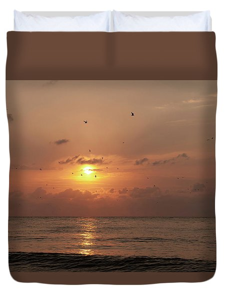 Sunset Florida Duvet Cover