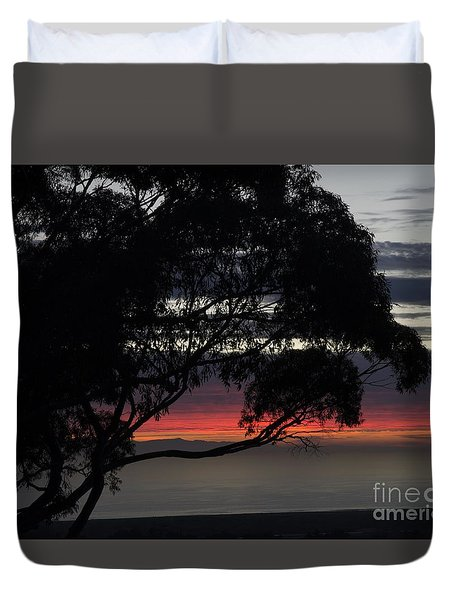 Sunset Hill Duvet Cover