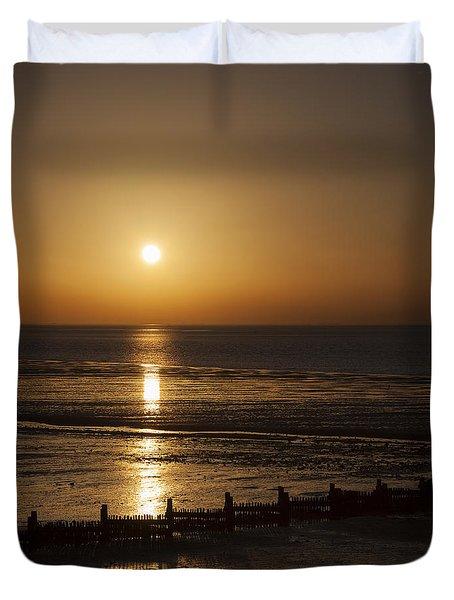 Sunset Hunstanton Duvet Cover