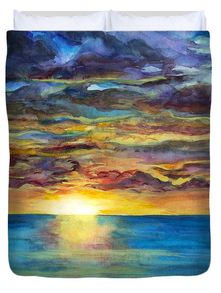 Sunset II Duvet Cover
