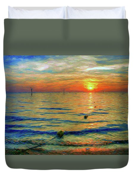 Sunset Impressions Duvet Cover